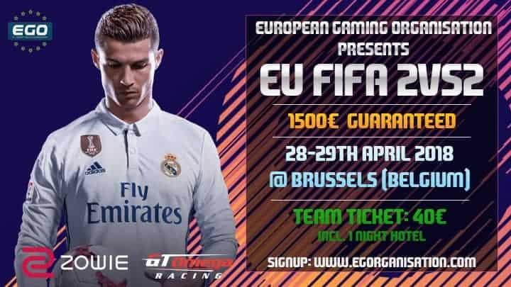 EGO 2v2 EU: 11F Gaming l'emporte devant l'Arma team!