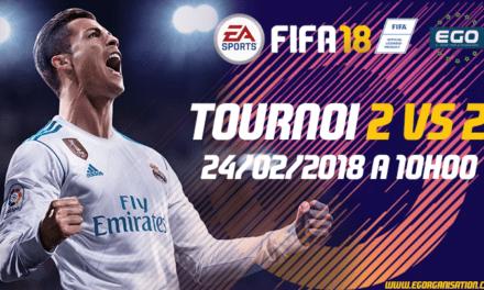 Tournoi 2vs2 PS4 européen à l'EGO