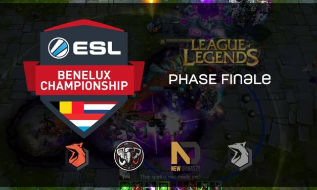 ESL Championship Benelux LoL : Sector One Black champion !