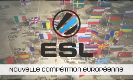 L'ESL annonce un nouveau tournoi (l'ESL Pro European Championship)