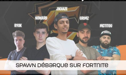 Une équipe Fortnite pour Spawn-esport