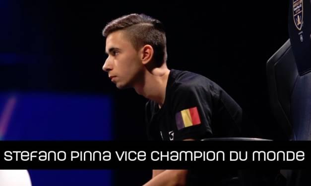 Stefano Pinna vice champion du monde FIFA
