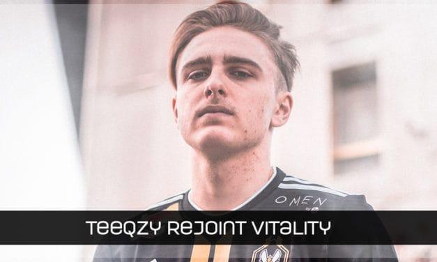 Teeqzy rejoint Vitality
