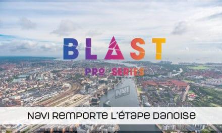 NaVi remporte la Blast Pro Series Copenhague