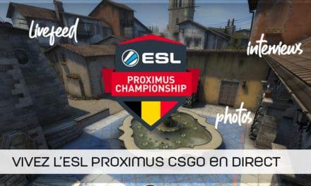Defusekids remporte l'ESL Proximus CSGO !