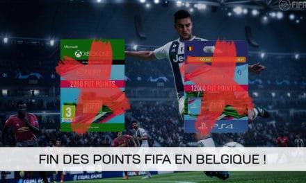 EA Sports arrête la vente de points FIFA en Belgique !