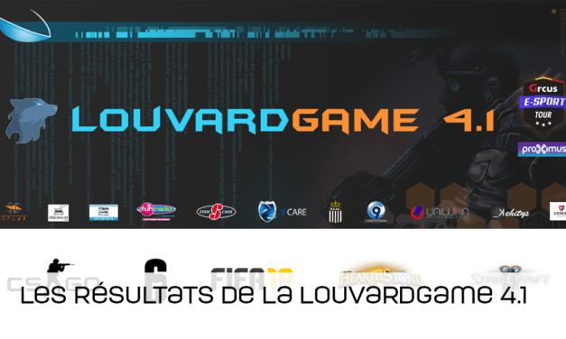 Les podiums de la Louvardgame 4.1