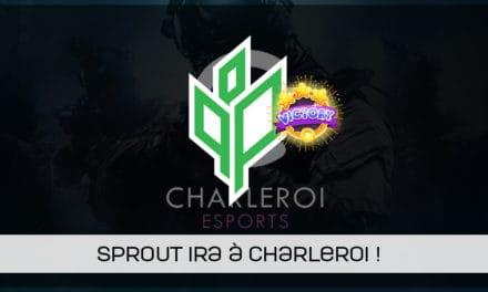Sprout remporte la 1ère qualification de Charleroi esports !