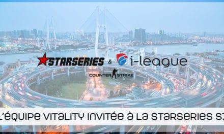 Vitality invitée de dernière minute à la Starseries saison 7