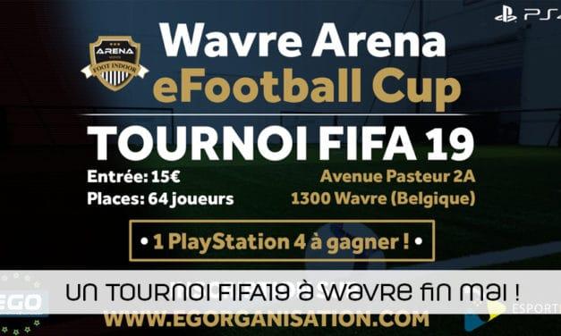 Un tournoi FIFA19 à la Wavre Arena