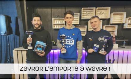 ZayroR remporte la Wavre Arena eFootball Cup