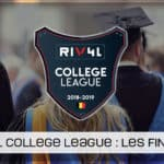 Les résultats de la RIV4L College League !