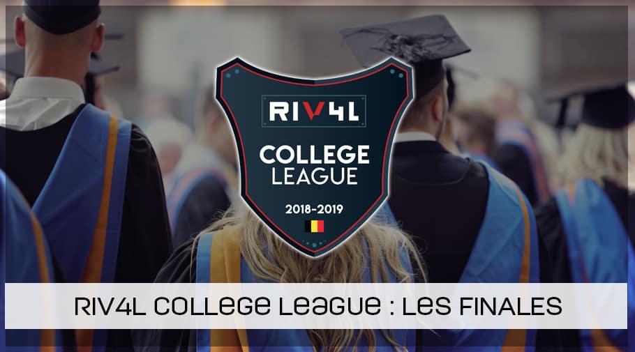 Les résultats de la RIV4L College League !