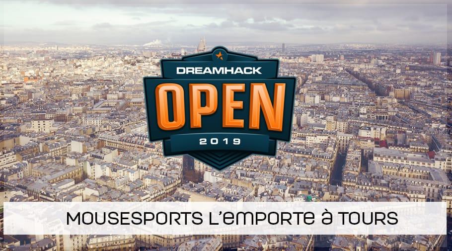 mousesports remporte la DreamHack Open de Tours !