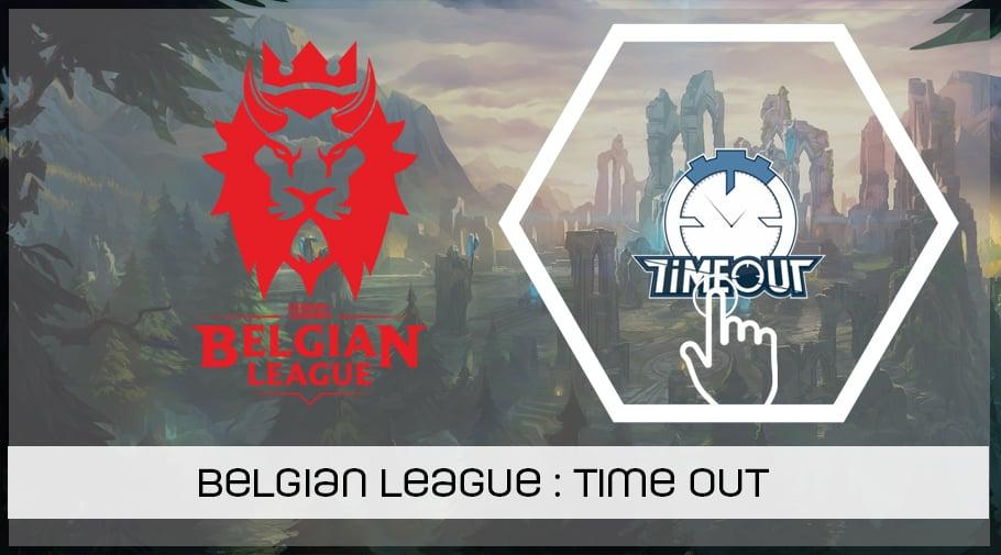 LoL Belgian League - présentation de TimeOut Esports