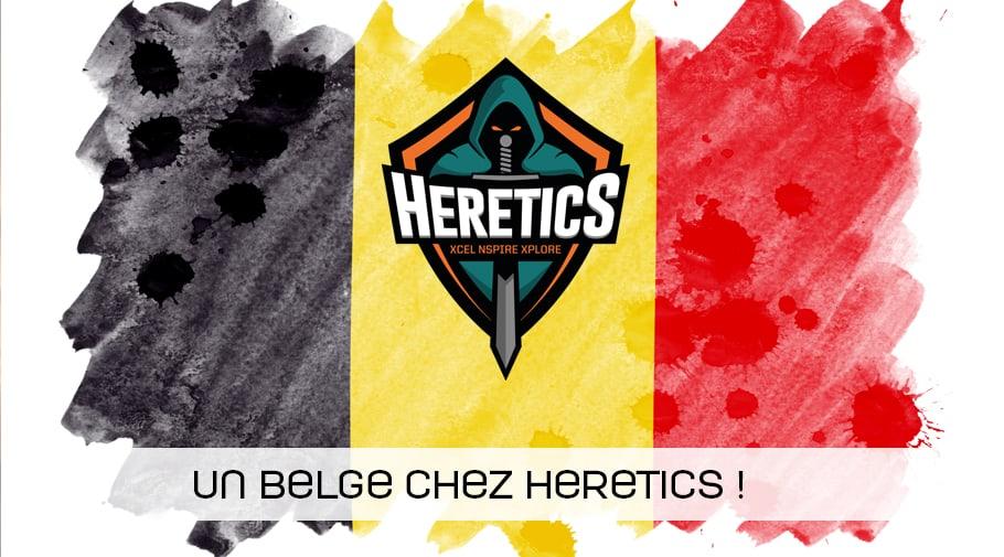 le joueur belge nivera debarque chez heretics