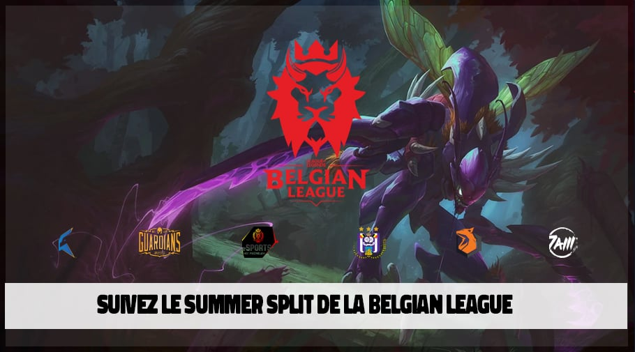 Belgian League summer split 2020