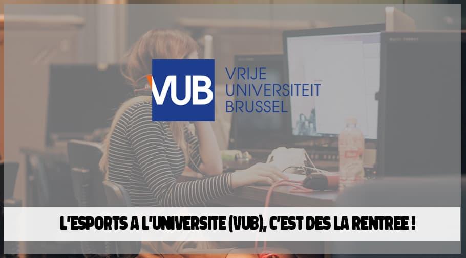 L'Esports a l'Université-VUB avec une formation postuniversitaire dès la rentrée 2020