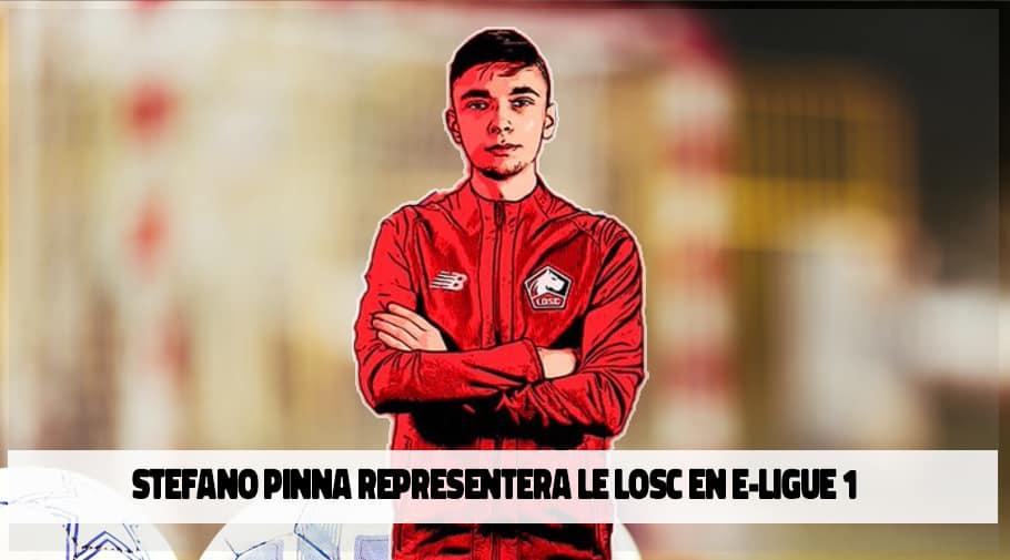 Stefano Pinna representera Lille LOSC en e-ligue-1