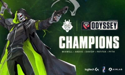 G2 Esports remporte les Allied Esports Odyssey