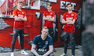 Association KRC Genk AZ Alkmaar dans l esport