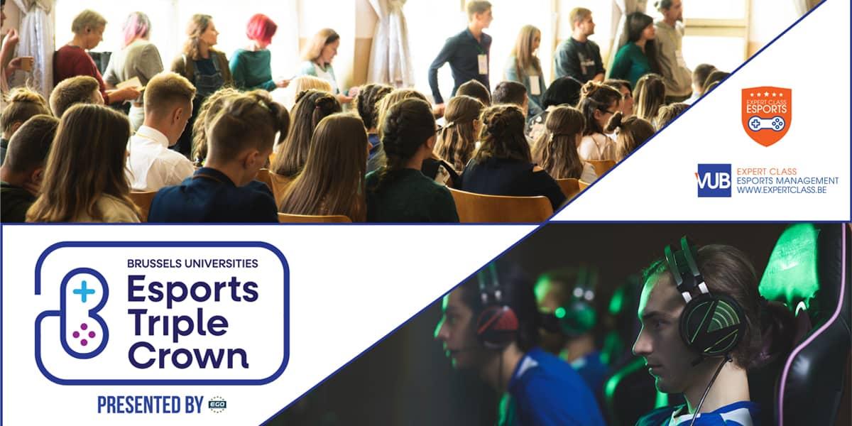 Esports Triple Crown - compétition esport Université ULB et VUB
