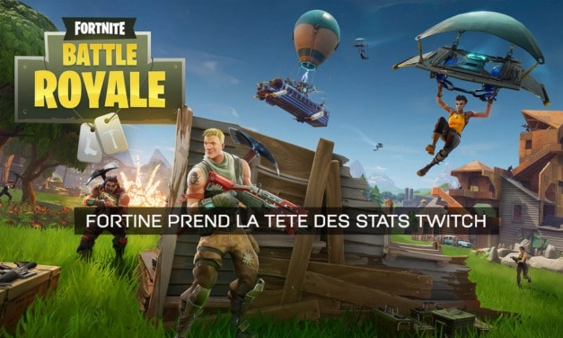 Fortnite affole les stats sur Twitch
