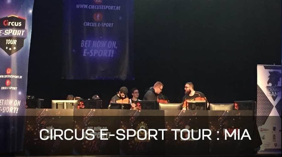 Circus E-sport: LESHAGONES l'emporte et se qualifie pour les phases finales!