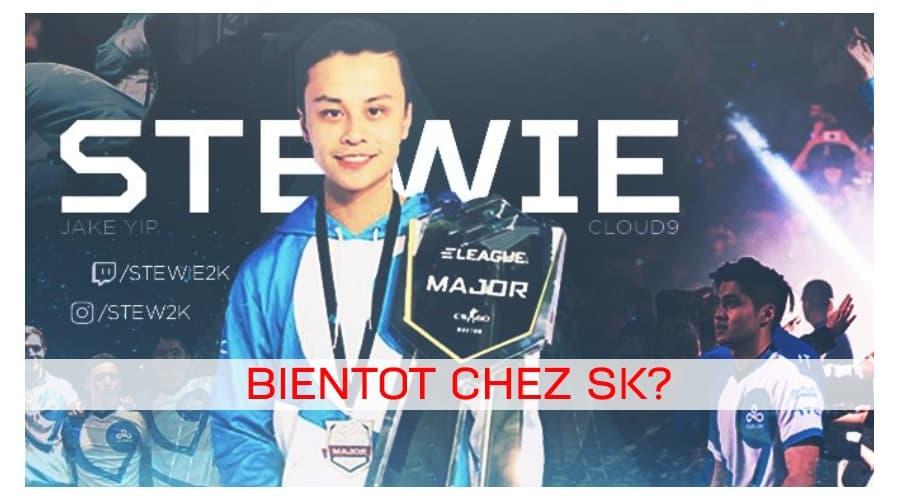 SK vise maintenant Stewie2k!