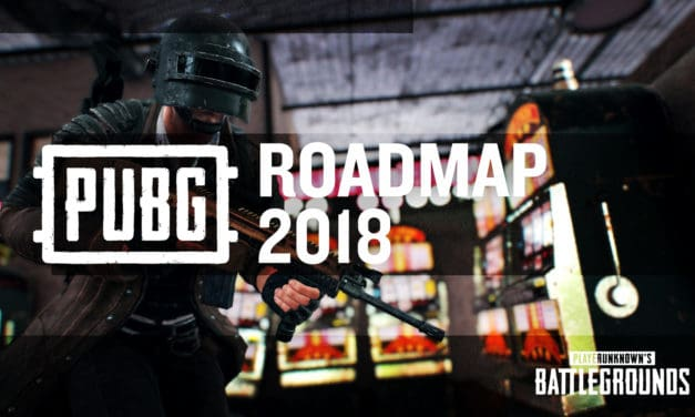 PUBG.Corp dévoile la roadmap PUBG 2018!
