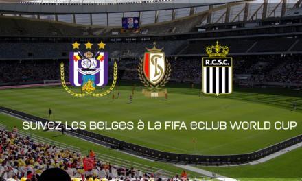 Suivez les clubs belge à l'eClub World Cup