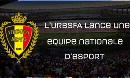 L'URBSFA annonce une équipe nationale d'e-sport!