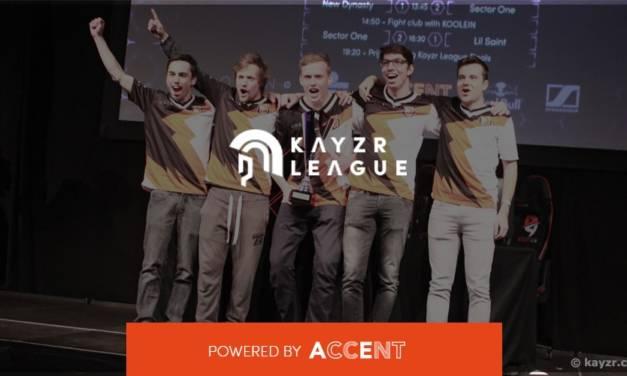 Kayzr league: Sector One remporte la saison 2