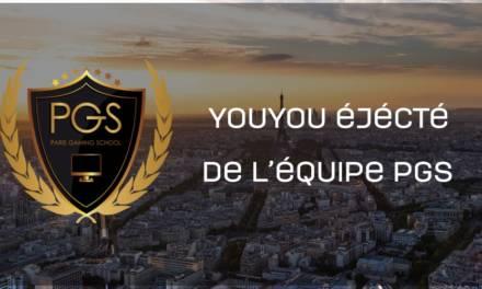 Déjà des changements pour Paris Gaming School! YOUYOU bench!