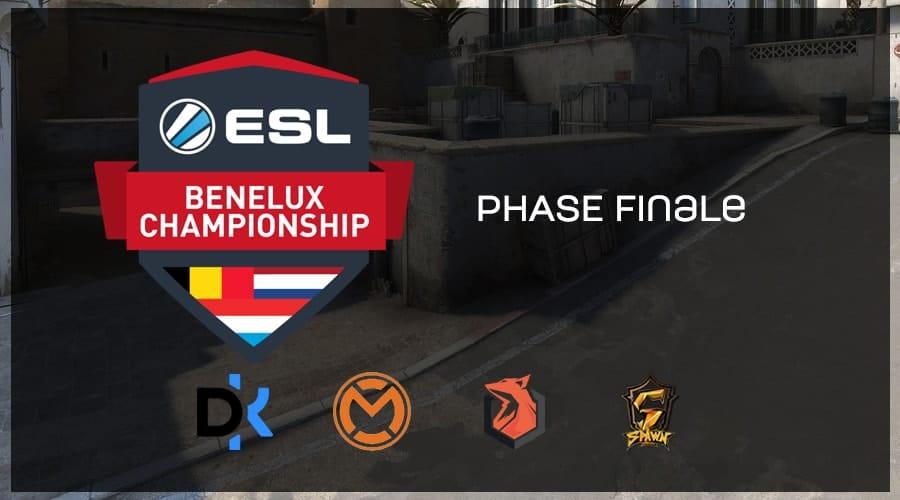 Defusekids remporte ESL Championship Benelux Summer 2018