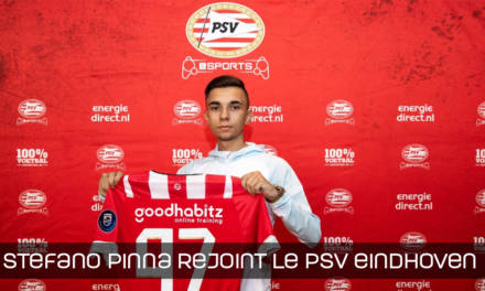 Stefano Pinna au PSV Eindhoven