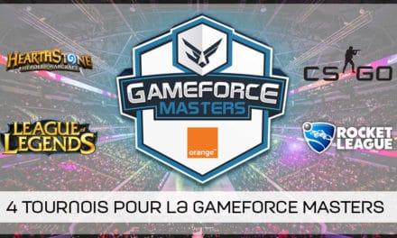 Une nouvelle compétition esport en Belgique : la GAMEFORCE MASTERS