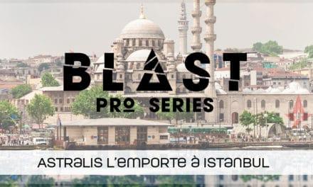 Astralis remporte la Blast Pro Series d'Istanbul