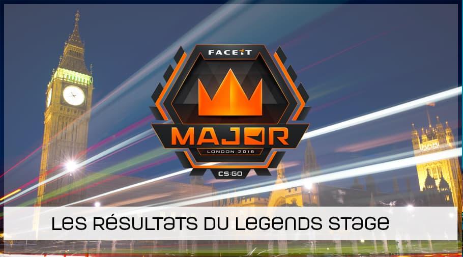 FaceIT MAJOR : Legends stage terminée !