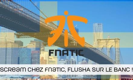 Le Belge ScreaM chez fnatic pour l'ESL New York. Flusha chez Cloud9 !