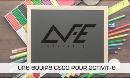 Après le stage, une équipe CSGO pour ActiVit-E