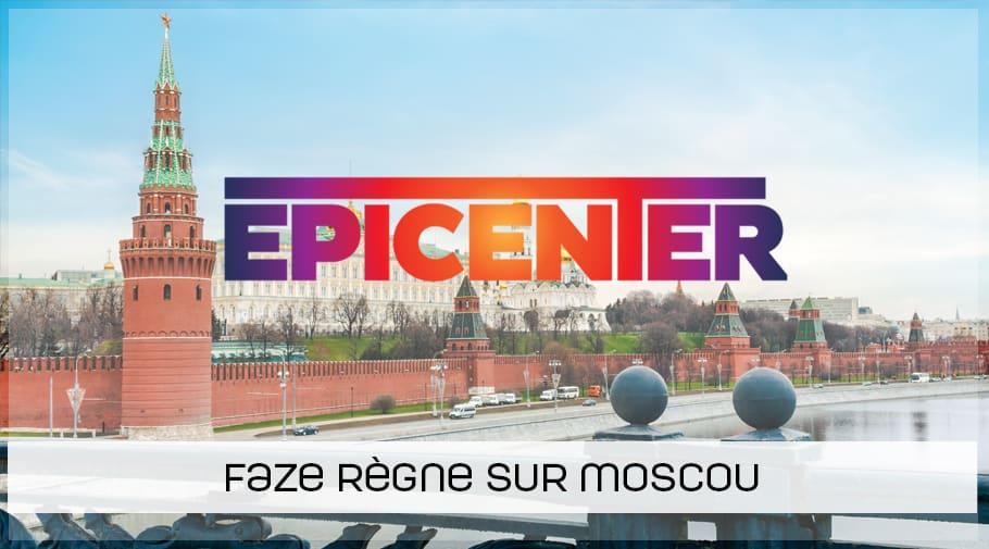 FaZe remporte l'EPICENTER 2018