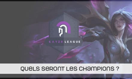 Kayzr League LoL : Sector One à nouveau champion !