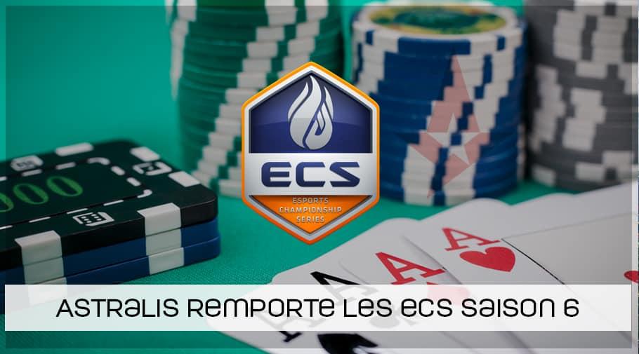 Astralis remporte les ECS saison 6 !