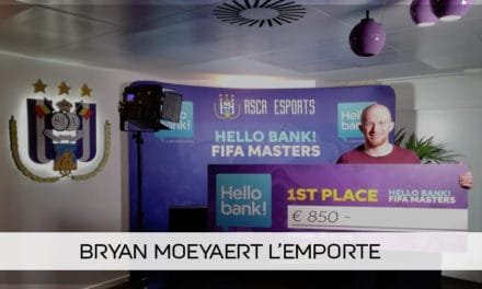 Bryan Moeyaert remporte la Hello Bank! FIFA Masters