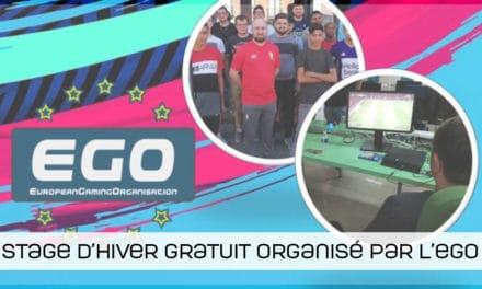 Un stage d'hiver gratuit organisé par l'EGO !