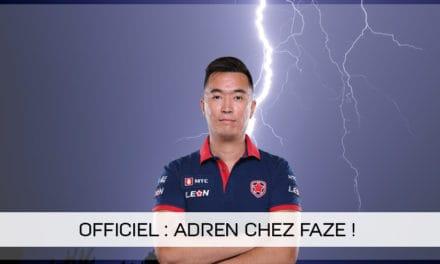 AdreN rejoint FaZe Clan !