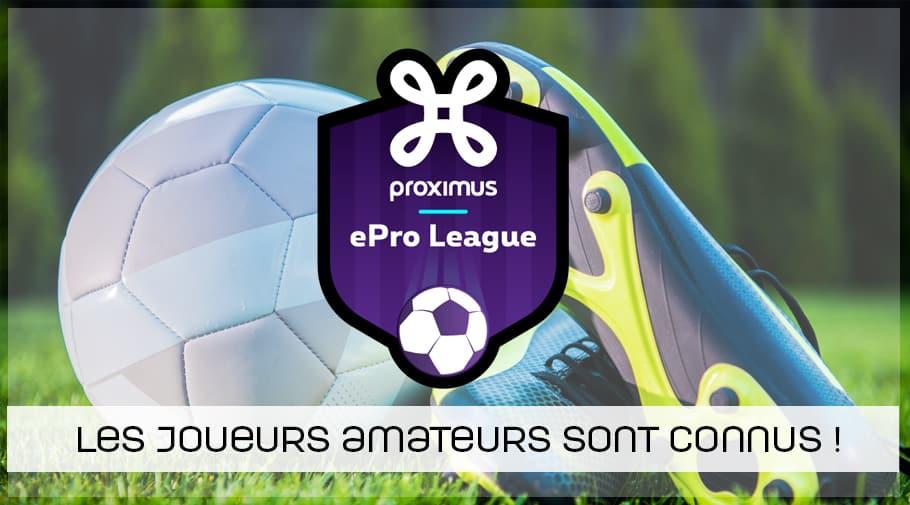 L'ePro League débute, la liste des joueurs est connue !