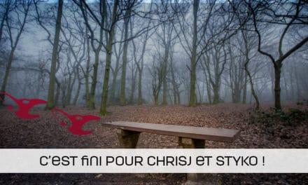 ChrisJ & STYKO sur le banc chez mousesports !