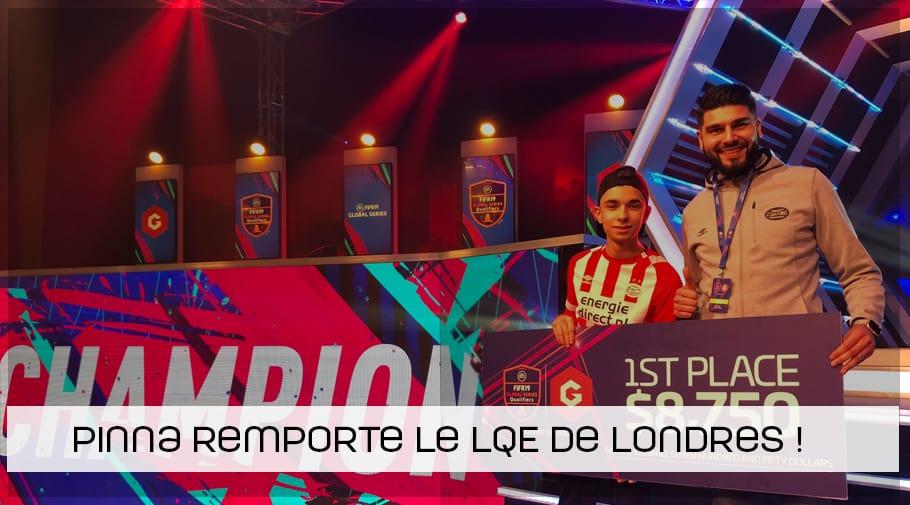 Stefano Pinna remporte la LQE de Londres !